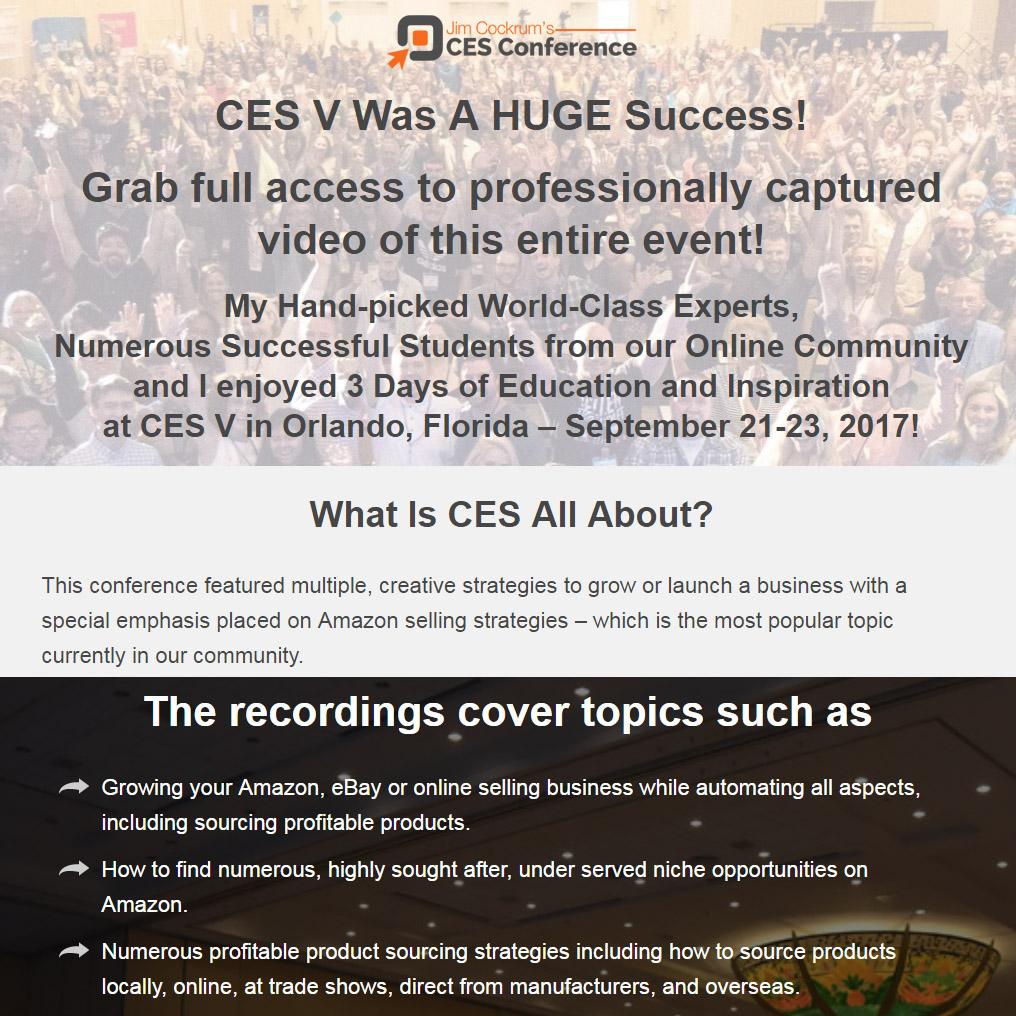 CES V Videos
