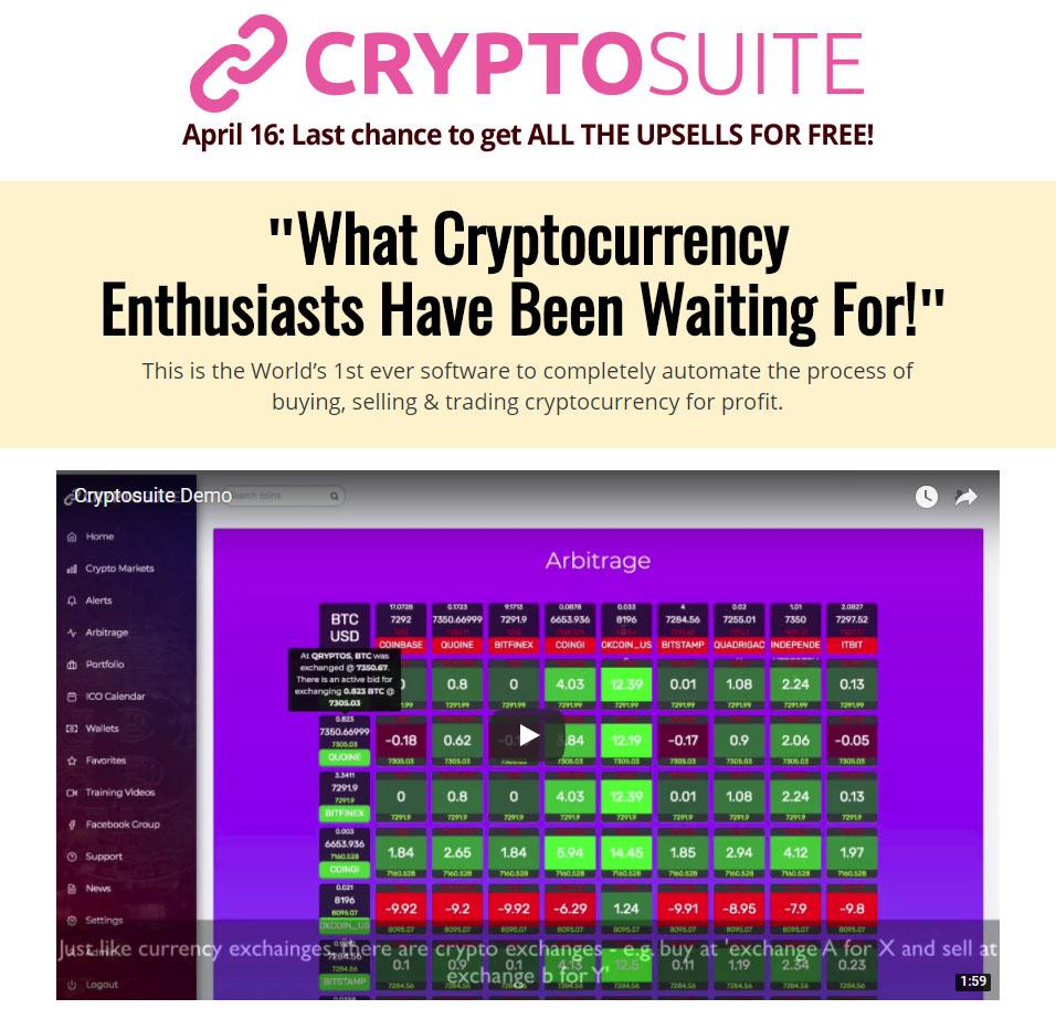CryptoSuite Bonuses
