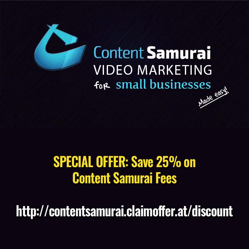 Content Samurai Discount