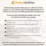 Proven Q4 Plan 2018