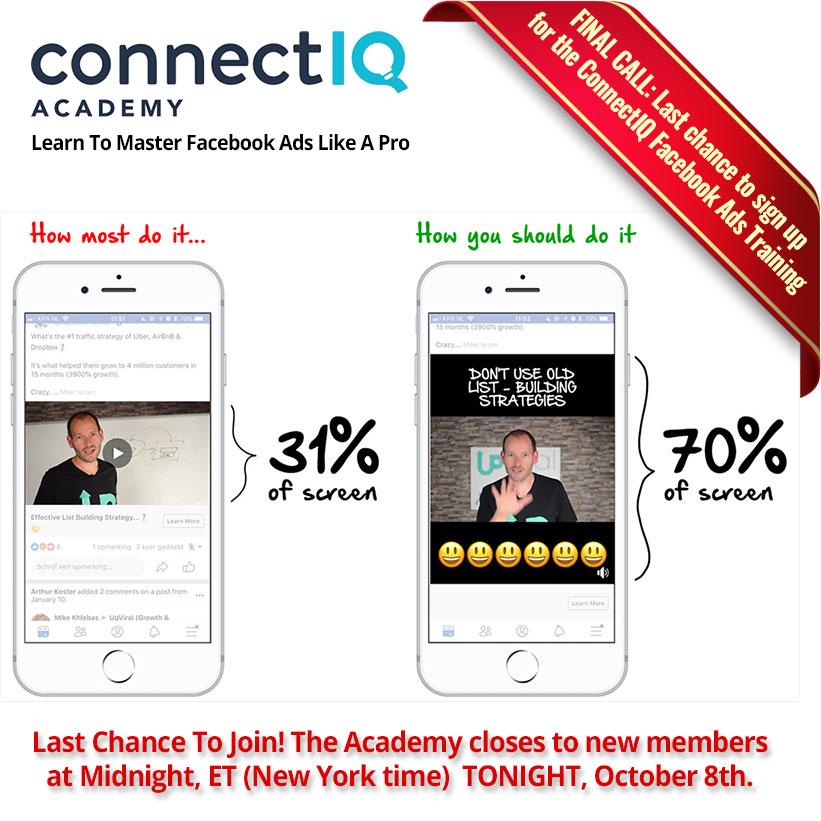 ConnectIQ Facebook Ads Course