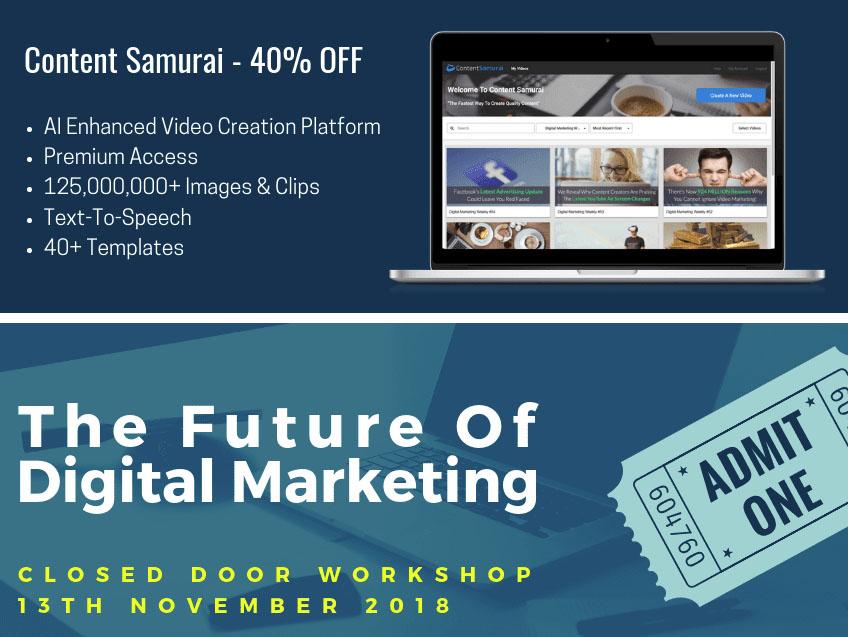 Content Samurai 40% Discount + 27 Bonuses