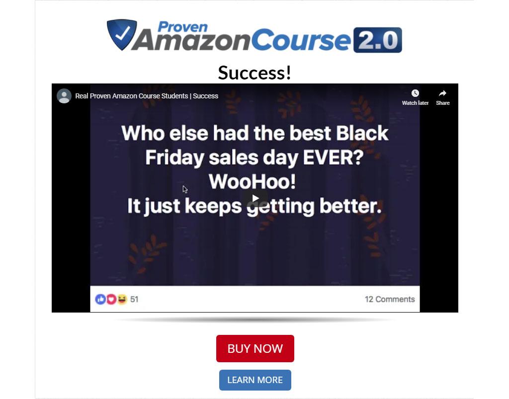 Proven Amazon Course Success Stories