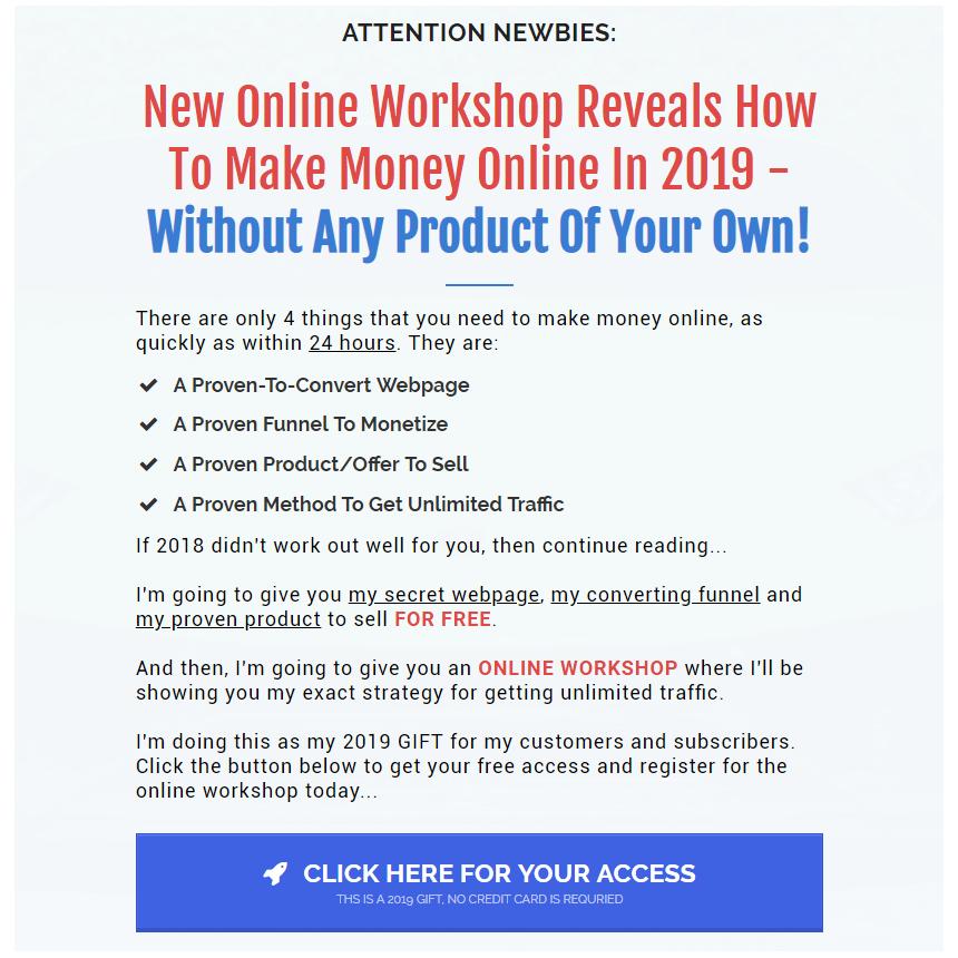 New Online Training Workshop