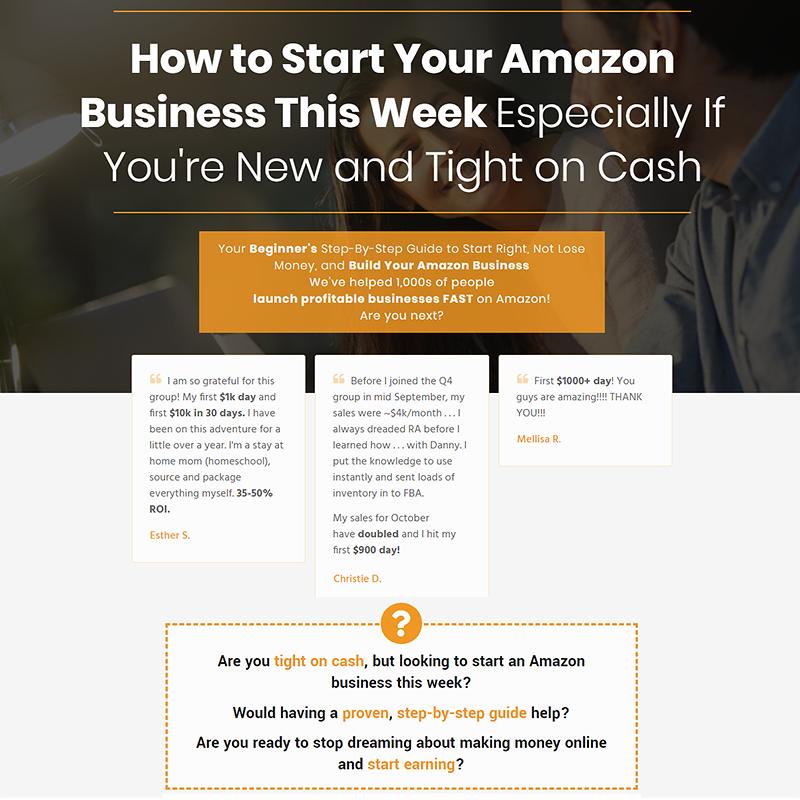 Amazon Seller 101 Course