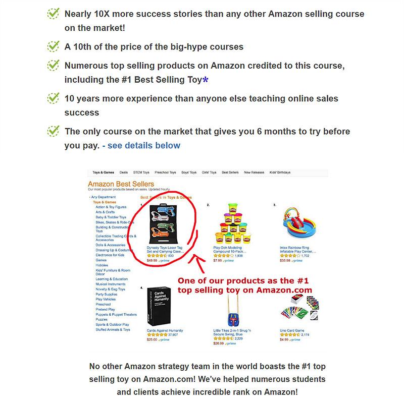 Amazon Seller's Course