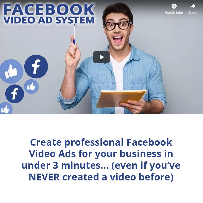 Content Samurai Facebook Video Ad System