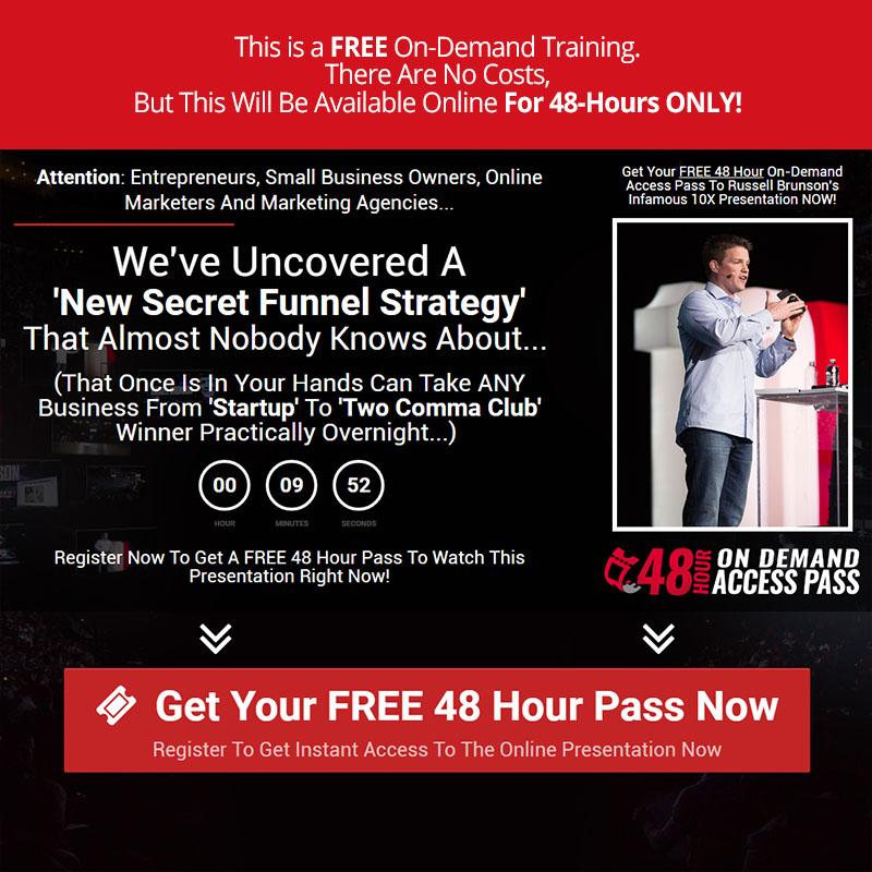 The Secret Funnel Strategy