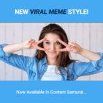Content Samurai Meme Style