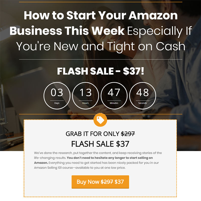 Amazon 101 Course Flashsale
