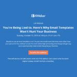 Aweber Email Design Myths Webinar 800x800