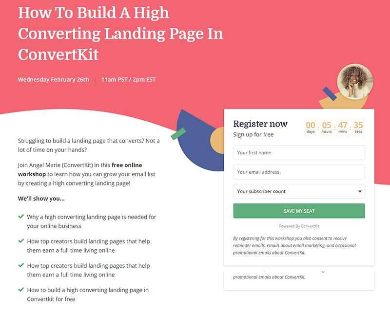 ConvertKit - Free Online Workshop Feb 26